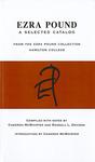 A Selected Catalog of the Ezra Pound Collection at Hamilton College