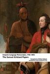 Iroquois-Language Manuscripts, ca. 1768-1803: The Samuel Kirkland Papers